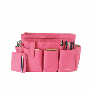 Myliora Deluxe Zipped Bag Insert Organiser + Small Pouch,15 Compartments, XL/XXL