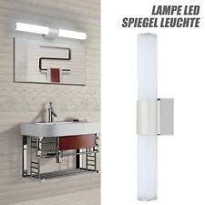 1x espejo baño LED cromado luz pared maquillaje decoración iluminación moderna