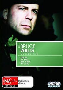 Bruce Willis Collection - Bandits / Die Hard / Hart's War / The Siege*R4*4Discs
