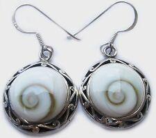 Unique Thai Shiva Eye Earring 92.5 %Silver Outstanding