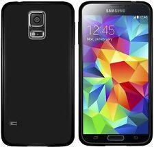 Housses et coques anti-chocs noir en silicone, caoutchouc, gel pour téléphone mobile et assistant personnel (PDA) Samsung