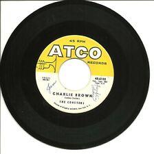 "The Coasters-Charlie Brown/Three Cool Cats-45 Rpm-7""-single-soul-doo wop-vinyl"