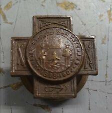 1898-1902 United Spanish War Veterans Pin Made From Uss Maine Bronze #Misc1360