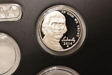 2014-S  Proof Cameo Jefferson Nickel