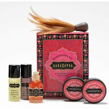 Kama Sutra The Weekender Travel Kit Massage Oil of Love Honey Dust Feather
