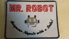 Mr Robot series TV Costume Jacket cosplay Cyber Hacking FBI Halloween Iron on pa