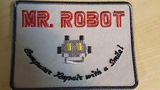 Mr Robot series TV Costume Jacket cosplay Cyber Hacking FBI Halloween Iron on pa