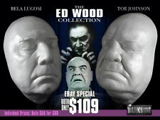 ED WOOD COLLECTION LUGOSI & TOR JOHNSON LIFE-SIZE Life Cast in Lightweight Resin