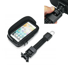 Motorcycle Phone Holder Bicycle Rear View Mirror Stand Mount GPS Waterproof Case(Fits: 1986 KX250)