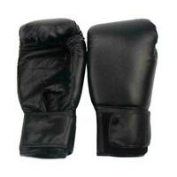 1 Paar PU Unisex Boxhandschuhe Boxsack Training MMA Sparring Muay Thai Kamp V7Z9