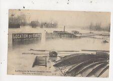 La Crue de la Seine Janvier 1910 Paris France Postcard 889a