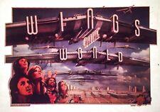 Last1 1979 vtg 70s Paul McCartney Beatles Wings over the World t-shirt iron-on