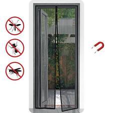 Insektenschutz Magnet 100x210 Fliegengitter Tür Mückenschutz Vorhang Wohnwagen