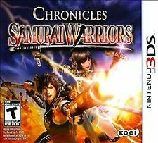 BRAND NEW Sealed Samurai Warriors: Chronicles (Nintendo 3DS, 2011)