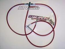 "STREAMLINE +2"" FRONT BRAKE LINES LINE KIT ATV RED KTM XC 450 XC 525 2008-2011"