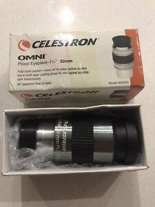 Celestron Plossl Telescope Eyepiece - 1 1/4 32mm