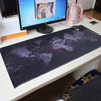 1×Große Größe 900x400x3mm Weltkarte Extended Gaming Mauspad Pad Laptop