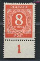 Alliierte Bes.-Gem.Ausg. 917c geprüft postfrisch 1946 I. Kontrollratsausgabe (90