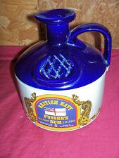 British Navy Pusser's Rum Jug Stoneware Crock Bottle Wade English Jolly Jack UK