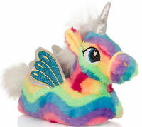 Girls Womens Rainbow Unicorn Matching Mother & Daughter Slippers Loungewear