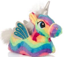 Girls Womens Rainbow Unicorn Matching Mother & Daughter Slippers Loungewear