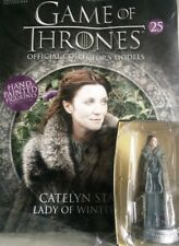 Game Of Thrones GOT Official Collectors Models #25 Catelyn Stark Figurine NEU
