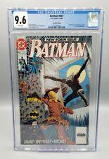 Batman # 457 2nd Printing - CGC 9.6 - Tim Drake Robin Only 20 in Census!
