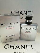 CHANEL Allure Homme Sport Eau de Toilette 100 ml / 3.4 Oz Sealed Box * SALE *
