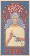 Original Vintage Poster Jesus Christ Superstar Musical Andrew Lloyd Webber 1971