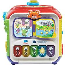 VTech Sort & Discover Activity Cube With Colours, Numbers & Music - 9-36 Months