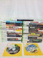 Lot of 30 Xbox 360 Games: Assassins Creed, Deus Ex, Bulletstorm, COD, etc