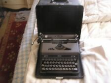 Vintage Royal Quiet Deluxe Typewriter and Case