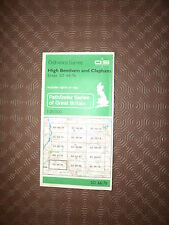 "Ordnance Survey Map 2.5"" map SD66/76 High Bentham, Clapham 1983 Austwick, Wray"
