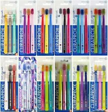 CURAPROX 5460 ULTRA SOFT Bristles - Pack of 3 TOOTHBRUSHES - CHOOSE COLOURS :-)