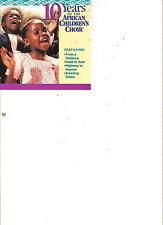 The African Children's Choir- 10 Years (CD)