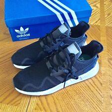 NEW $130 ADIDAS EQT Cushion ADV CQ2377 Mens Athletic Shoes Black & White 12