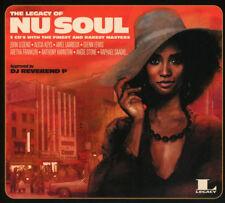 "THE LEGACY OF NU SOUL "" VARIOUS "" 3 X CD SET SEALED 32 TRACKS JOHN LEGEND MAXWEL"
