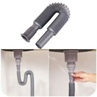 Basin Deodorant Retractable Down Pipe Plastic Corrugated Pipe Underfloor Drain