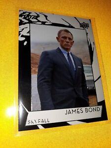 JAMES BOND COLLECTION CARD #150 FOIL JAMES BOND SKYFALL UPPER DECK Card