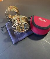 Orvis Vortex 9/10wt Fly Fishing Reel W/ Spare Spool Gold