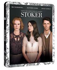 STOKER  STEELBOOK    BLU-RAY   BRAND NEW