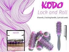 KODO - Lock and Roll Set - Purple 6 X 45mm Barrels/Heads, Handle and Comb