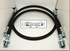 LANCIA APPIA II / III SERIE - Set of front and rear brake hoses 450 mm