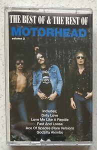 Motorhead, The Best of & the Rest of Volume 2. Cassette Album Action Replay 1993