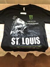 Monster Energy AMA Supercross FIM World Championship St Louis T-shirt Adult Med