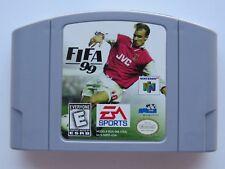 FIFA 99 Nintendo 64 N64 Authentic Retro Soccer OEM Video Game Cart Rare Kid GOOD