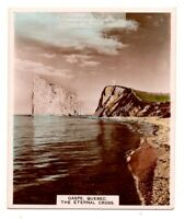 The Eternal Cross at Gaspe Quebec Canada 1930s Ad Trade Card