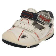Scarpe Sandali sintetico bianco per bambini dai 2 ai 16 anni