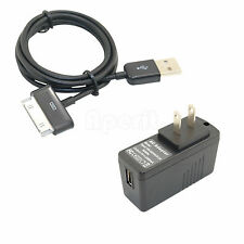 "AC Adapter Charger + USB Cable for Samsung Galaxy Tab 2 GT-P3113-TS8A 7"" Tablet"