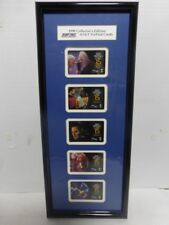 STAR TREK AT&T PREPAY CARDS 1998 COLLECTOR EDITION 5 CARD IN 1 FRAME